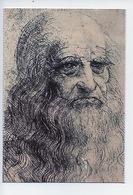Léonardo Autoportrait Léonard De Vinci - Amboise Le Clos Lucé (n°2/111 Leconte) - Schilderijen