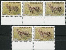 MALI 2014 Serval The World To The Rescue Cat Fauna MNH - Roofkatten