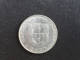 1977 Portugal 2.5 Escudos Coin - EF Extremely Fine - Portugal