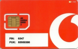 Mobile Phonecard Vodafone (M.MAR) - Portugal (NOT USED) - Portugal