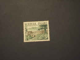 NORFOLK - 1960/3 PONTE/ALBERO 5 Sh. - NUOVO(++) - Isola Norfolk