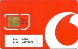 Mobile Phonecard Vodafone - Portugal - Portugal