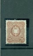 Deutsches Reich, Reichsadler Im Oval, Nr. 43 I B Falz * - Ungebraucht
