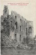 D54 - HARAUCOURT - LE CHATEAU BOMBARDE - LA GUERRE DE LORRAINE EN 1914-1918 - Andere Gemeenten