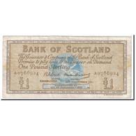 Billet, Scotland, 1 Pound, 1961, 1961-11-16, KM:102a, TB - [ 3] Scotland