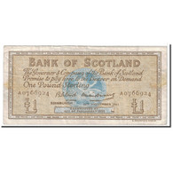 Billet, Scotland, 1 Pound, 1961, 1961-11-16, KM:102a, TB - Ecosse