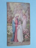 Plechtige H. Communie Van Germana RIJMENANTS Te Rijkevorsel St. Willibrordus Op 18 Maart 1934 ( Zie Foto's ) ! - Communion