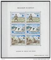 Monaco, BF N° 17** Y Et T, Bloc-feuillet,  Europa 1979 - Blocs