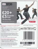 CYPRUS - 3 Boys, CytaMobile/Vodafone Prepaid Card 20+3 Pounds(365 Days), CN : 0733, Used - Cyprus