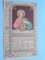 1ste H. Communie Van Cornelius MERTENS I/h Seminarie Te HOOGSTRATEN Op 3 Juni 1900 ( Zie Foto's ) Drukfout ! - Communion