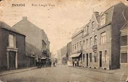 Herstal - Rue Large-Voie (animée, 1919, Attelage Boulangerie ?) - Herstal