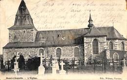 Henri-Chapelle - L'Eglise (cimetière, Travaux Sur La Toiture...Edit. Willems 1906) - Welkenraedt