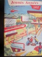 1957 Jeunes Années Magazine De L' Écolier Et De L' Écolière Ecole Revue Vintage Français Quelle Sera Ta Vie En 1975 ? - Libros, Revistas, Cómics