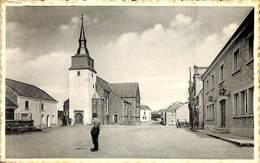 Habay La Vieille - Place De L'Eglise (animée, 1965, Maison Perrad Lamour) - Habay
