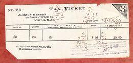 Stock Transfer Tax 1938 (55099) - Gebührenstempel, Impoststempel