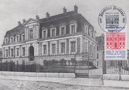 Carte  Maximum  1er  Jour   FRANCE   INSTITUT   PASTEUR   1987 - Cartes-Maximum