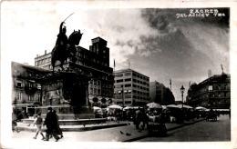 Zagreb - Jelacicev Trg * 3. 8. 1943 - Croatia