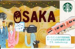 JAPAN - Osaka, Starbucks Card, CN : 6141, Unused - Gift Cards