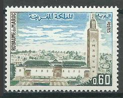 Maroc YT N°612 Mosquée Es Sounna Neuf ** - Marokko (1956-...)
