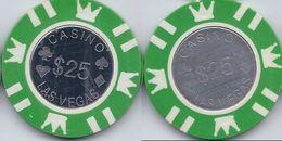 Generic $25 Chip From Las Vegas - Casino