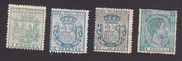 Cuba, Scott # Telegraph Stamps, Mint Hinged, Telegraph Stamps, Issued 1879 - Cuba (1874-1898)