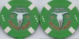Hold'em Saloon Albuquerque NM $25 Sample/Fantasy Chip - Casino
