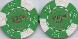 Landmark Casino Las Vegas $25 Sample/Fantasy Chip - Casino