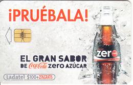 MEXICO - Coca Cola Zero, Used - Mexico