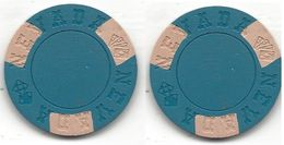 Blank NEVADA Mold Sample/Fantasy Chip - Casino