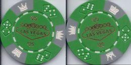 Generic Las Vegas $25 Sample/Fantasy Chip - Casino