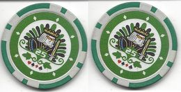 Generic $25 Sample/Fantasy Chip - Casino
