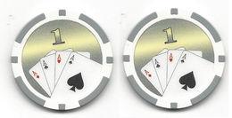 Generic $1 Sample/Fantasy Chip - Casino