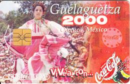 MEXICO - Coca Cola, Guelaguetza 2000, 05/00, Used - Mexico