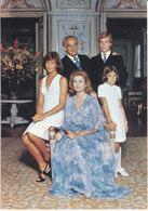 Monaco Postcard Sent To Switzerland 14-10-1975 (The Royal Family) - Monaco
