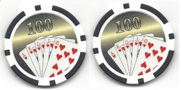 Generic $100 Sample/Fantasy Chip - Casino