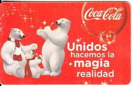 MEXICO(chip) - Coca Cola, Calendar 2011, Used - Mexico