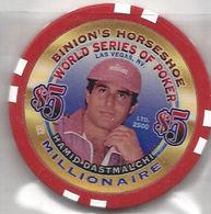 Binion's Horseshoe WSOP Millionaire Chip - Hamid Dastmalchi - Casino