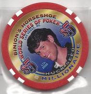 Binion's Horseshoe WSOP Millionaire Chip - Huck Seed - Casino