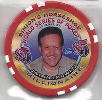 Binion's Horseshoe WSOP Millionaire Chip - Jay Heimowitz - Casino