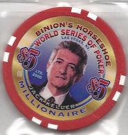 Binion's Horseshoe WSOP Millionaire Chip - Jack Keller - Casino