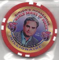 Binion's Horseshoe WSOP Millionaire Chip - Jim Bechtel - Casino