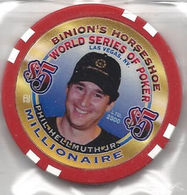 Binion's Horseshoe WSOP Millionaire Chip - Phil Hellmuth Jr. - Casino