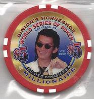Binion's Horseshoe WSOP Millionaire Chip - Scotty Nguyen - Casino