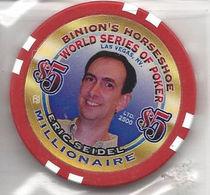 Binion's Horseshoe WSOP Millionaire Chip - Eric Seidel - Casino