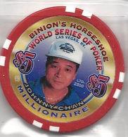 Binion's Horseshoe WSOP Millionaire Chip - Johny Chan - Casino