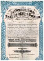 Action Ancienne - Congo - La Commerciale Anversoise Du Congo - Titre De 1928 - Afrique