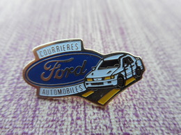 A004 -- Pin's Ford Automobiles Courrieres -- Exclusif Sur Delcampe - Ford