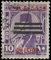 Egypt Scott #N-26, 10m Deep Violet (1953) Occupation Stamp, Used - Egypt