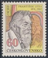 Tschechoslowakei Czechoslovakia 1976 Mi 2300 ** Frantisek Lexa (1876-1960) Ägyptologe / Egyptologist - Birth Cent. - Archeologie