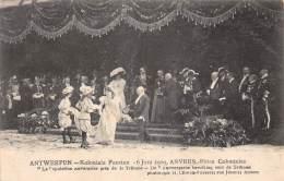 """ANTWERPEN - Koloniale Feesten - 6 Juni 1909 - De """"Antwerpsche Bevolking Voor De Tribuun"""" - Antwerpen"""